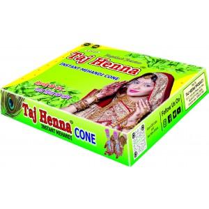 Taj Mehandi cone All seasonal Bridal special Henna Cone 28G Each Pcs