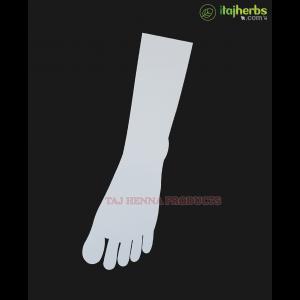 Taj 3mm Reusable Acrylic Leg for Mehandi Practice Use Both Side 1 Pc