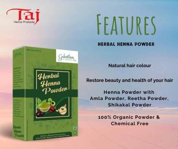 herbal hair henna features