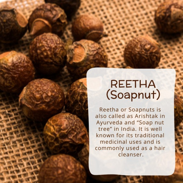Reetha/Soapnut powder details